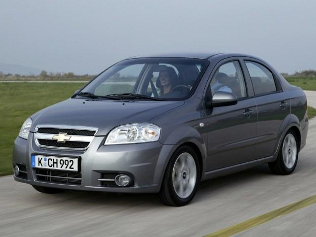 Chevrolet Aveo седан в Москве