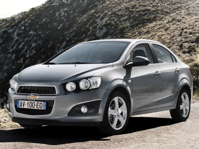 Chevrolet Aveo Седан в Ростове-на-Дону