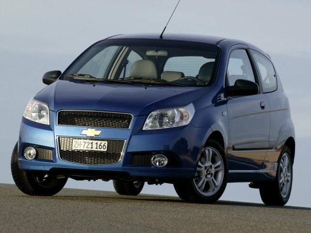 Chevrolet Aveo 3-дв. в Москве