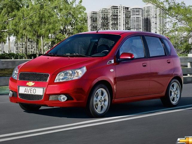 Chevrolet Aveo 5-дв. в Москве