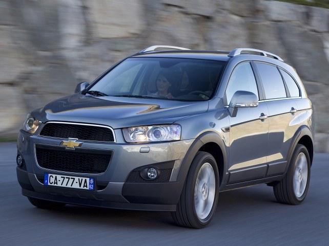 Chevrolet Captiva в Москве