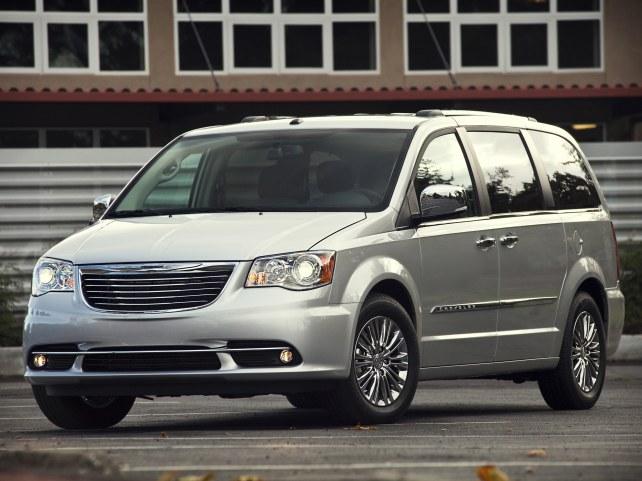 Chrysler Grand Voyager в Москве