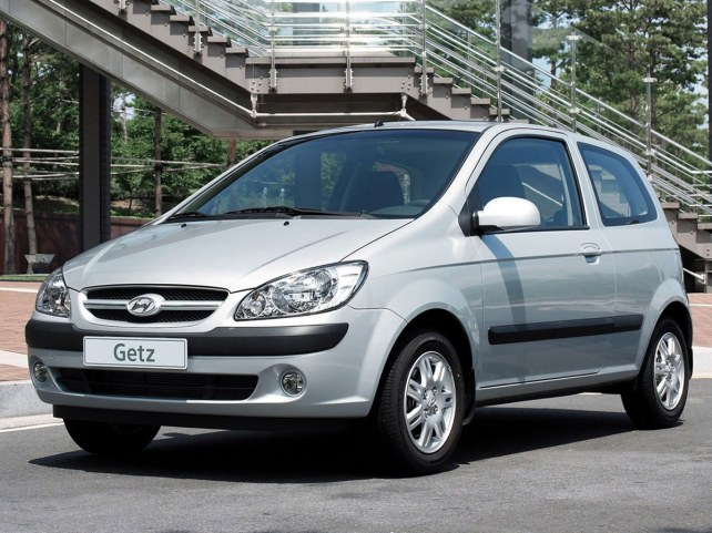 Hyundai Getz 3-дв. в Москве