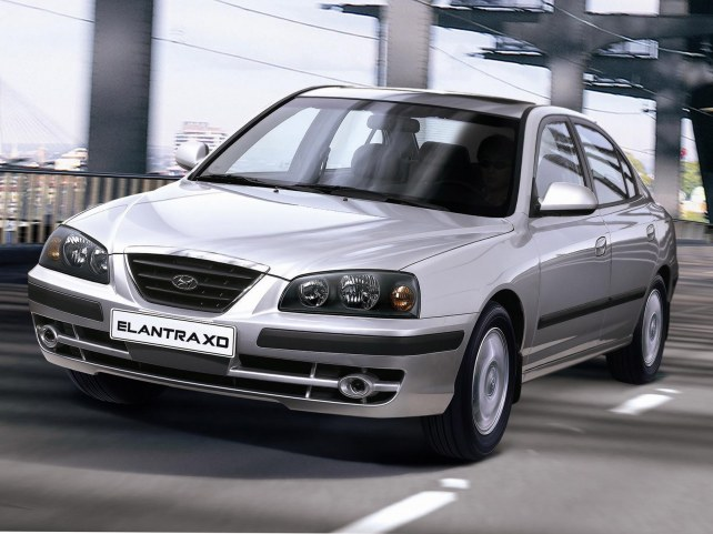 Hyundai Elantra XD в Москве