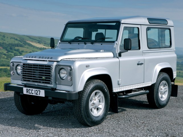 Land Rover Defender 90 в Москве