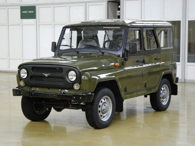УАЗ 469 в Москве
