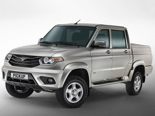 УАЗ Patriot Pickup (I поколение рестайлинг, 2014 - 2016 г.в.) в Калининграде