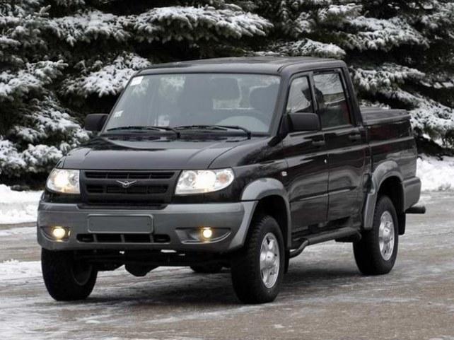 УАЗ Patriot Пикап (I поколение, 2007 - 2013 г.в.) в Красноярске