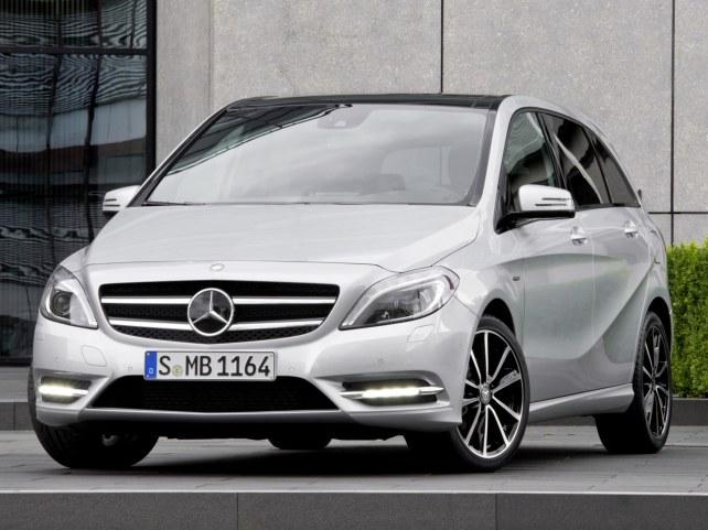 Mercedes-Benz B-Класс в Москве