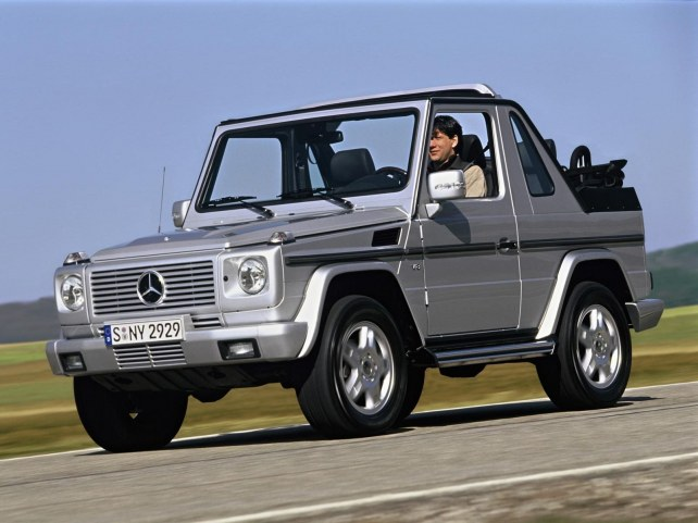Mercedes-Benz G-Класс кабриолет в Москве
