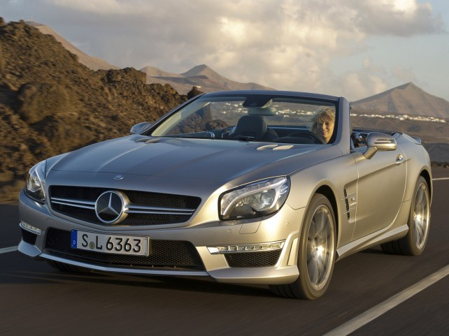 Mercedes-Benz SL-Класс AMG в Москве