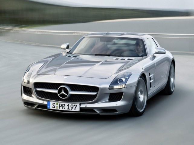 Mercedes-Benz SLS AMG Купе в Ростове-на-Дону