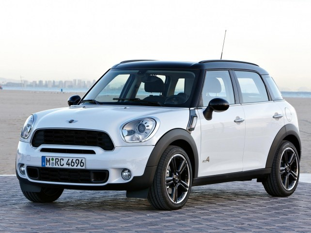 MINI Cooper S Countryman в Москве