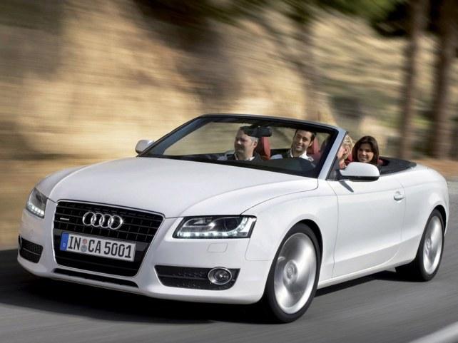 Audi A5 кабриолет в Москве