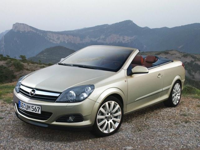 Opel Astra кабриолет в Москве