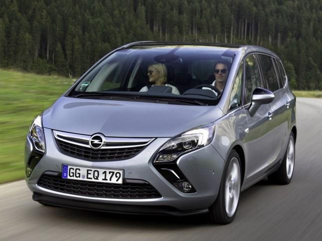 Opel Zafira в Тюмени