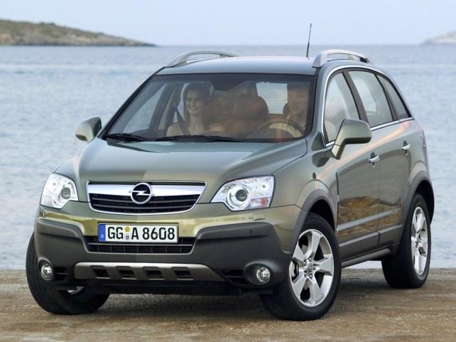 Opel Antara в Москве