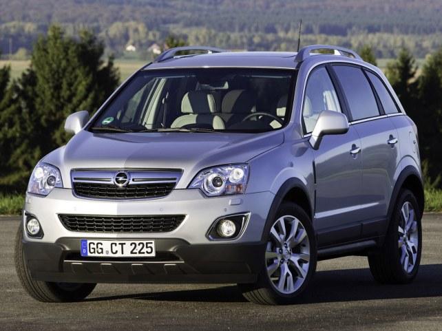 Opel Antara в Тюмени