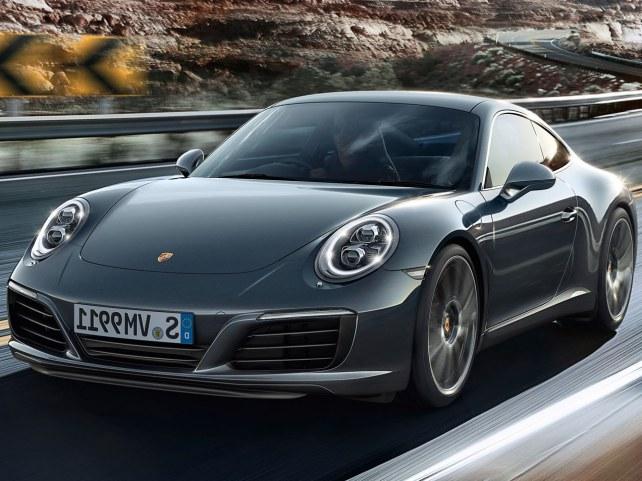 Porsche 911 Carrera Купе в Красноярске
