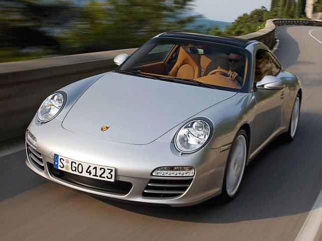 Porsche 911 Targa 4 в Москве