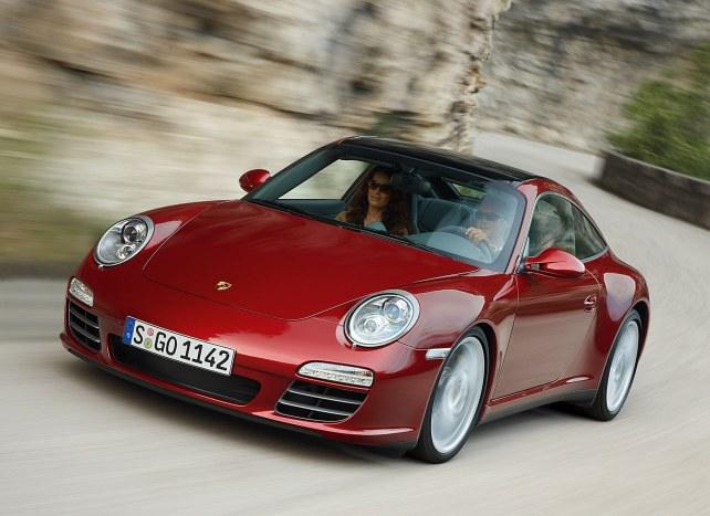 Porsche 911 Targa 4S в Москве