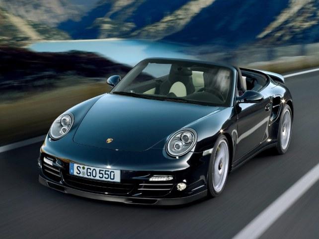 Porsche 911 Turbo S Кабриолет в Красноярске