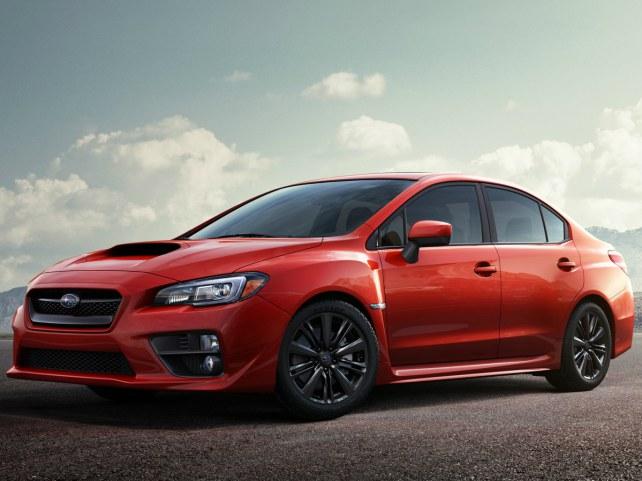 Subaru WRX в Москве