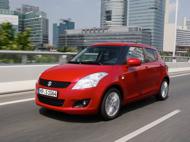 Suzuki Swift во Владивостоке.