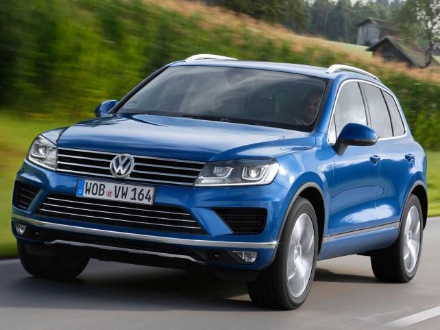 Volkswagen Touareg (II поколение рестайлинг, 2014 - 2018 г.в.) в Набережных Челнах