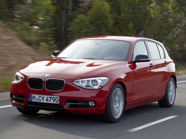 BMW 1-я серия Хэтчбек 5-дв. в Москве