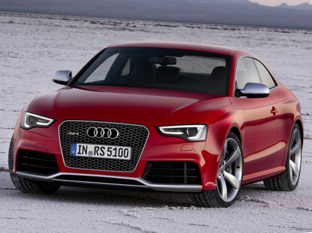 Audi RS5 в Москве