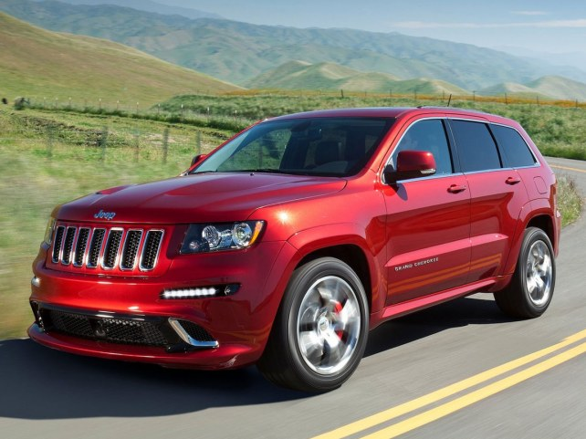Jeep Grand Cherokee SRT8 в Москве