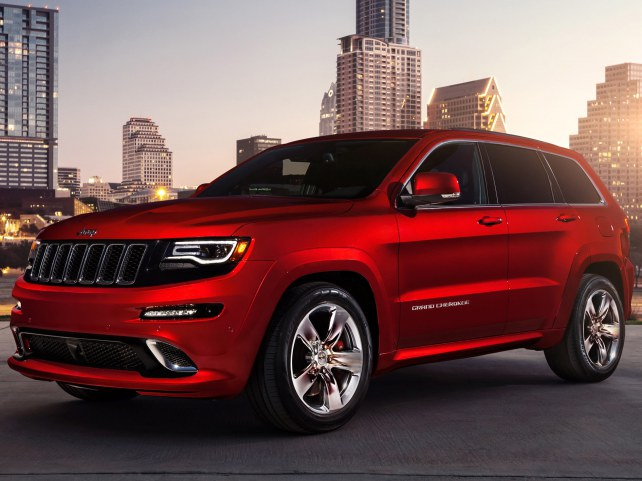 Jeep Grand Cherokee SRT8 в Санкт-Петербурге