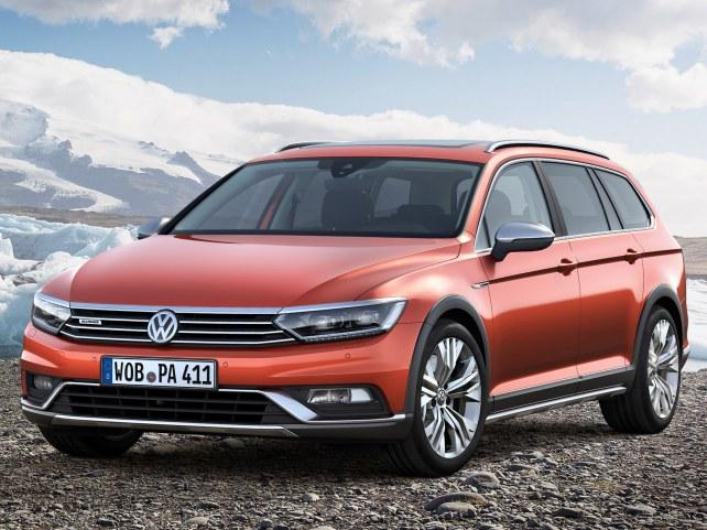 Volkswagen Passat Alltrack в Москве
