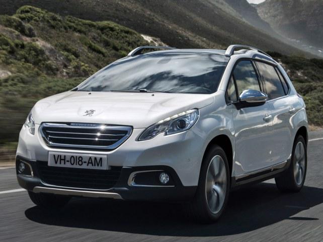 Peugeot 2008 в Москве