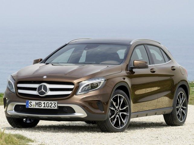 Mercedes-Benz GLA-Класс в Москве