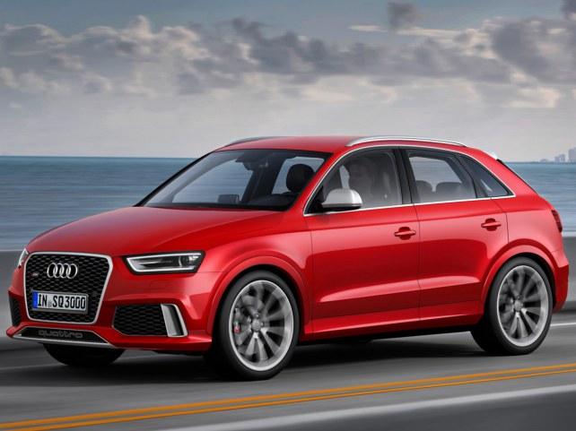 Audi Q3 RS в Москве