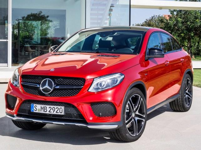 Mercedes-Benz GLE-Класс Купе в Москве
