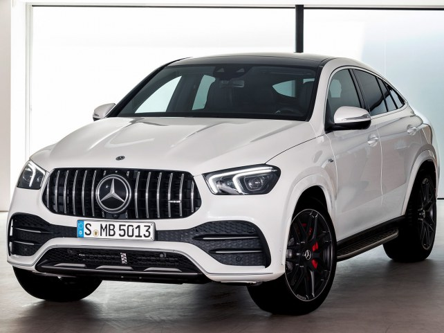 Mercedes-Benz GLE-Класс купе внедорожник в Красноярске