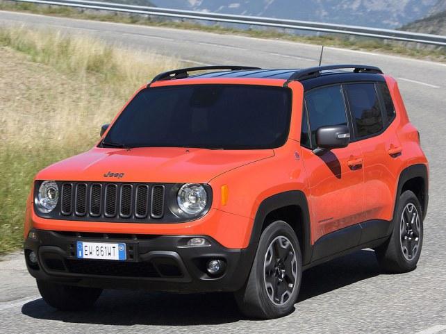 Jeep Renegade в Москве