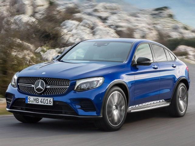 Mercedes-Benz GLC-Класс купе в Москве