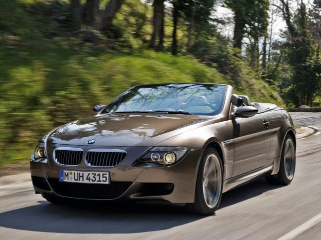 BMW M6 кабриолет в Москве