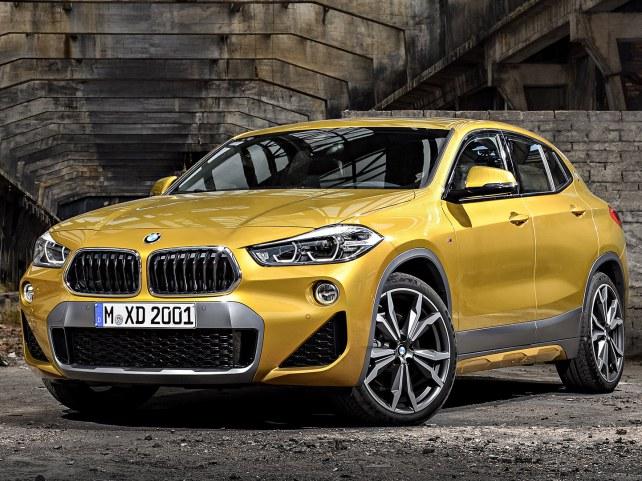 BMW X2 в Москве