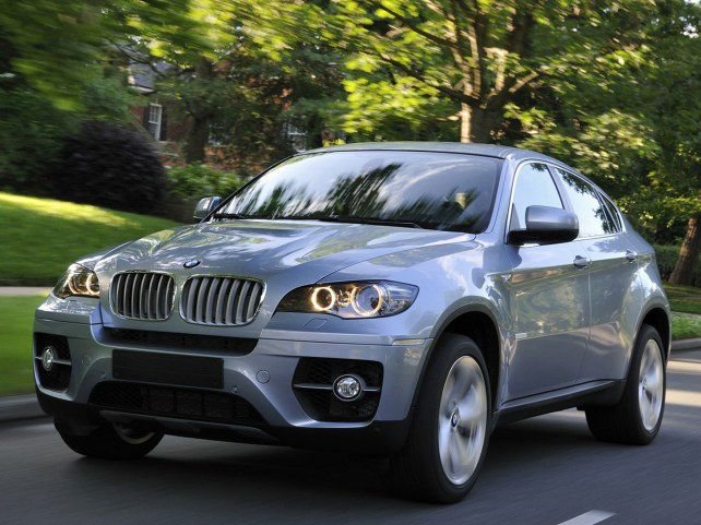 BMW X6 ActiveHybrid в Москве