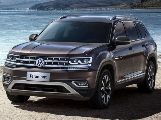 Volkswagen Teramont в Брянске