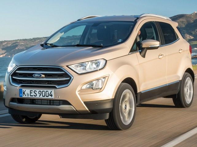 Ford EcoSport Внедорожник в Москве