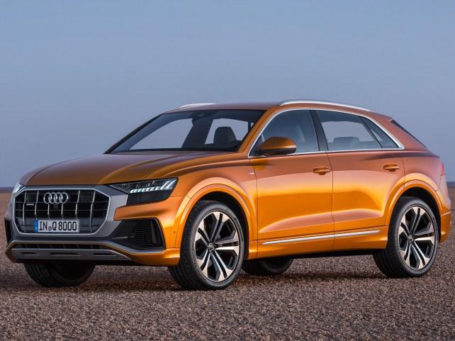 Audi Q8 в Москве