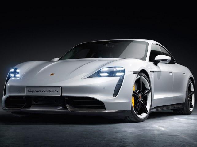 Porsche Taycan в Воронеже