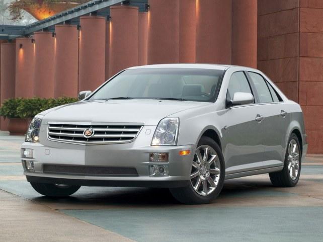 Cadillac STS в Москве